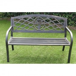 Steel Garden Daffodil Bench | 422614