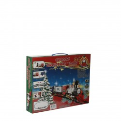Train B/O 13 Pieces RED | 400491