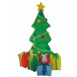 Inflatable with 6 LED Christmas Tree 150cm | 400125