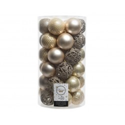 Shatterproof Baubles 37PK LIGHT GOLD | 402280