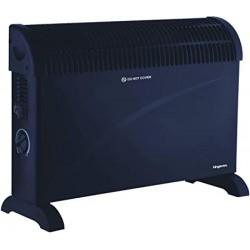 KINGAVON Convector Heater 2KW Black - 408131