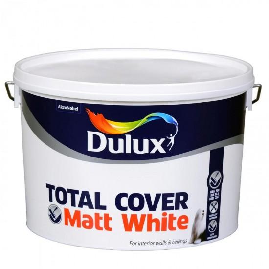 DULUX Total Cover 10LT Brilliant White | 71702