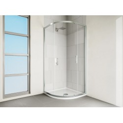 VERVE Quadrant Shower Door 900mm Silver | VCQ90SC