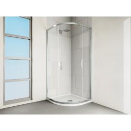 VERVE Quadrant Shower 1 Door 900mm Silver | VOCQ90SC
