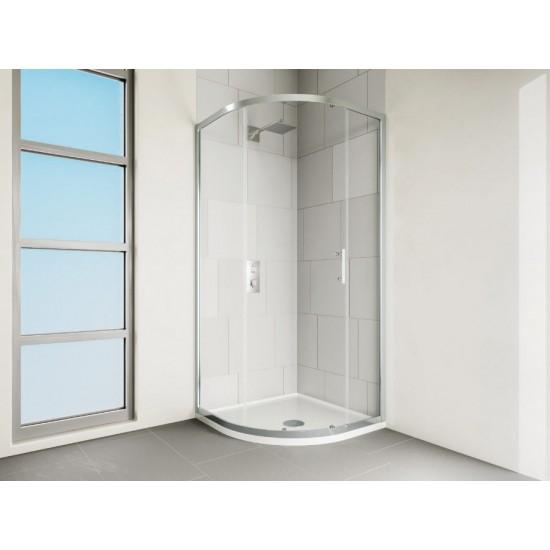 VERVE Quadrant Shower Door 900mm Silver | VCQ90SC