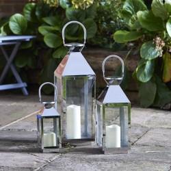 Stainless Steel Lantern 35CM | 376966