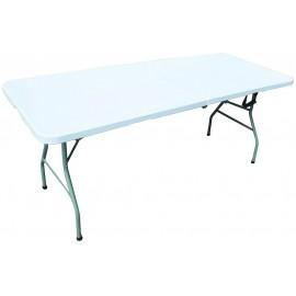 Heavy Duty Folding Table 1.8M WHITE | 61893