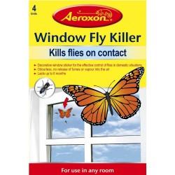AEROXON Window Fly Killer Butterfly 4 Pack   387903