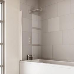 Verve 6mm Curved Bath Screen   VBS1SC