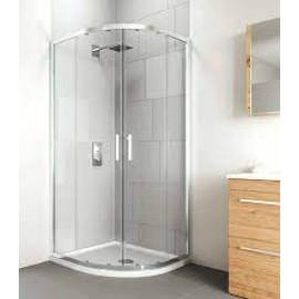 VERVE Quadrant Shower 2 Door 900mm Silver | VOCQ90SC