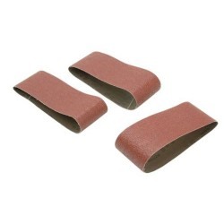 Black & Decker Sanding Belts 75 x 457mm 80g 3 Pack | 63465