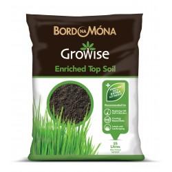 BORD NA MONA Growise Enriched Topsoil 35L | 427010
