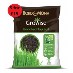BORD NA MONA Growise Enriched Topsoil 35L  3 FOR €15| 470202