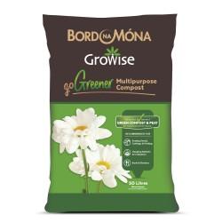 BORD NA MONA Growise Go Greener Multipurpose Compost 50lt | 427009