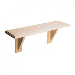 CORE Natural Pine Wooden Shelf Kit 48 x 8cm | 47532