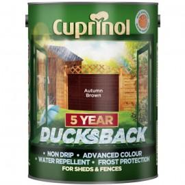 CUPRINOL Ducksback AUTUMN BROWN 5L | 58305