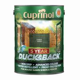 CUPRINOL Ducksback FOREST GREEN 5L | 58332