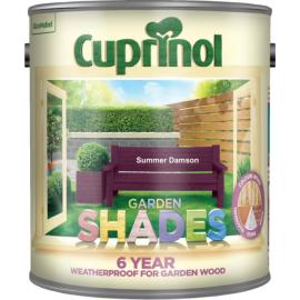 CUPRINOL Garden Shades SUMMER DAMSON 2.5L   62068