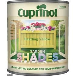 CUPRINOL Garden Shades DAZZLING YELLOW 1L | 58966