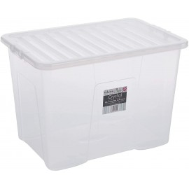 WHAM Crystal Box & Lid Clear 160L | 388430