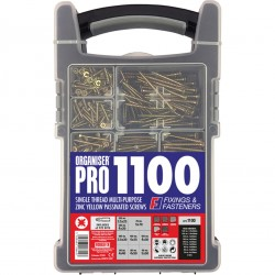 ORGANISER Pro Passivated Screws 1100 PIECE | 39099