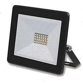 Glass Surface IP65 LED Flood Light Aluminium 30W with Sensor BLACK   49744