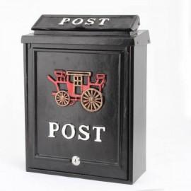 De Vielle Carriage Diecast Post Box   44682