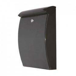 De Vielle Abs All Weather Post Box BLACK | 62316
