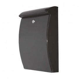 De Vielle Abs All Weather Post Box BLACK   62316