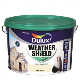 DULUX Weathershield 10L NEW WOOL | 58341