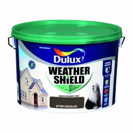 DULUX Weathershield 10L BITTER CHOCOLATE | 58351