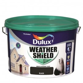 DULUX Weathershield 10L BLACK | 58750