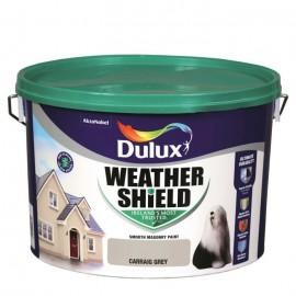DULUX Weathershield 10L CARRAIG GREY   58751