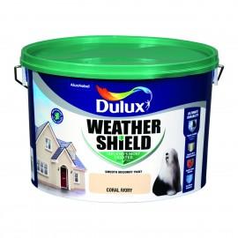 DULUX Weathershield 10L CORAL IVORY | 58754