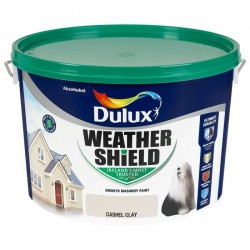 DULUX Weathershield 10L CASHEL CLAY | 62010