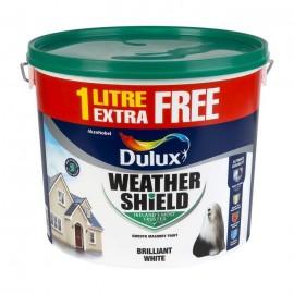 DULUX Weathershield 11L PURE BRILLIANT WHITE | 71477