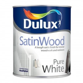 DULUX Satinwood 2.5L PURE WHITE | 71747