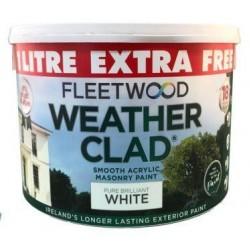 FLEETWOOD Weatherclad 9L + 1L Free WHITE   71950