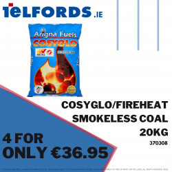 COSYGLO/FIREHEAT Smokeless Coal 4 for €36.95 | 370308