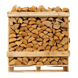 Birch Kiln Dried Logs Crate | 424503