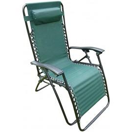 TEXTLINE Reclining Garden Chair GREEN   64893