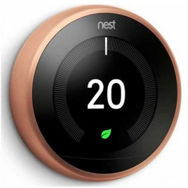 Google Nest Learning Thermostat 3rd Generation COPPER   T3031EX