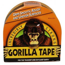 GORILLA Glue Gorilla Tape 48mm X 32m BLACK | 241885