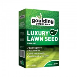 GOULDING No1 Luxury Lawn Seed 500g | 386705