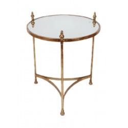HAROLD ELMES Ant Gold Metal Table   401920