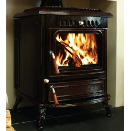 HENLEY Blasket Boiler Stove 21KW BLACK ENAMEL | 413326