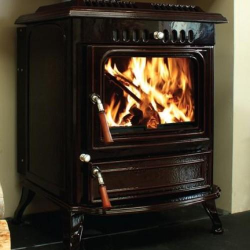 HENLEY Blasket Boiler Stove 21KW BLACK ENAMEL   413326