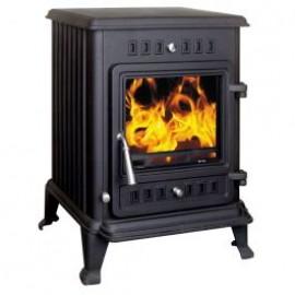 HENLEY Kells 6kW Room Heater Stove MATT BLACK | ST082