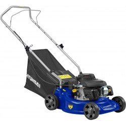 "Hyundai 16 "" Petrol Powered Push Rotary Lawnmower 