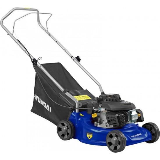 "Hyundai 16 "" Petrol Powered Push Rotary Lawnmower | HYM40P"